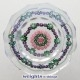 Facetted Spaced Concentric; Centre Rose