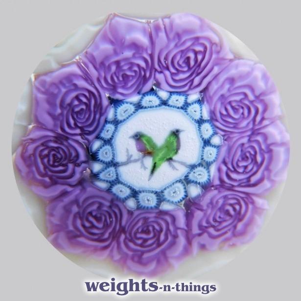 Purple & Cream Roses 1/1 (2021)